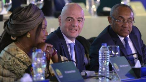 FATMA SAMOURA: IN AFRICA TO COVERUP THE THEFT OF FIFA FUNDS - Fifa  Colonialism