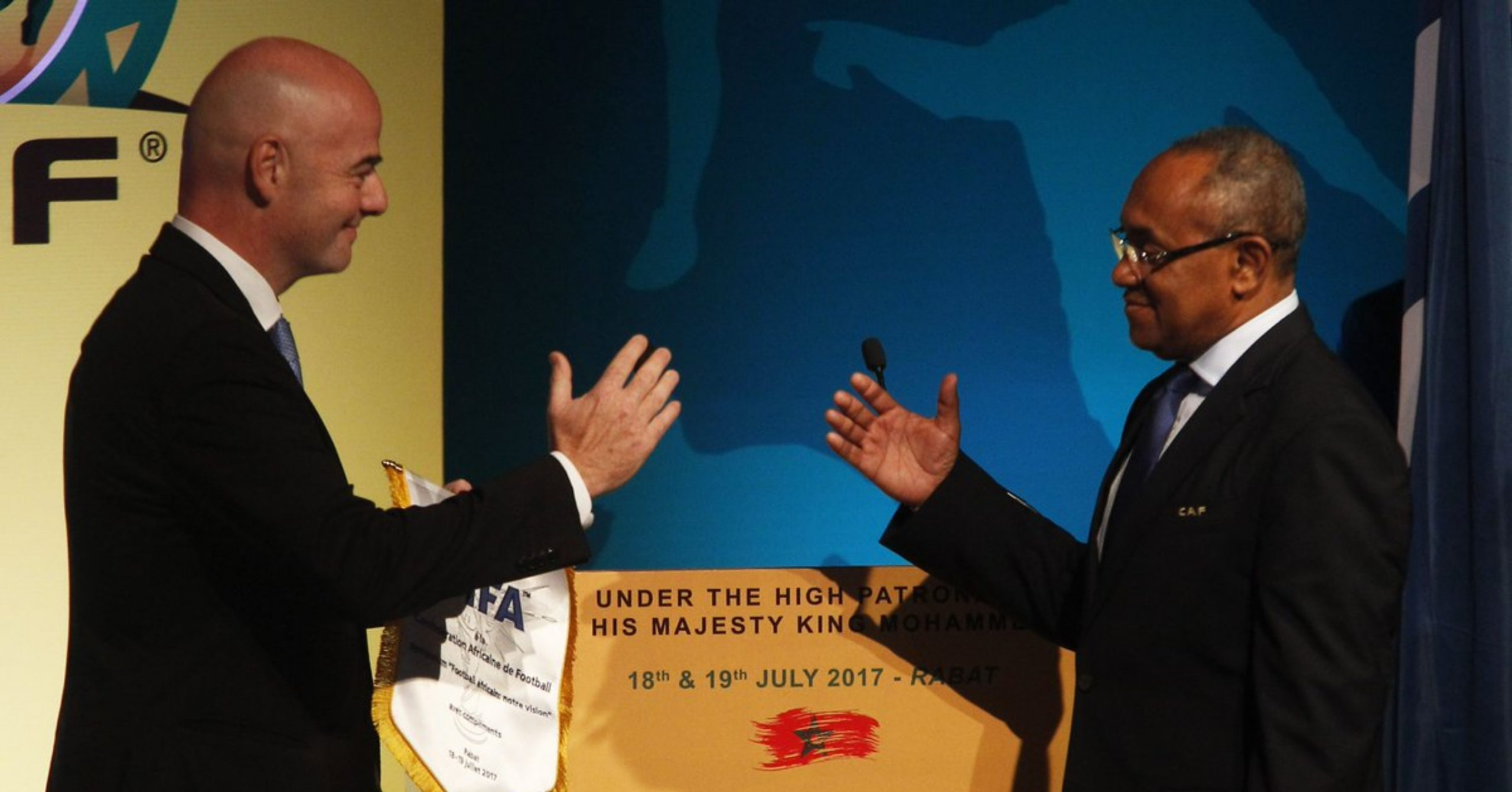INFANTINO & AHMAD: IS THE BROMANCE FINALLY REALLY OVER? - Fifa Colonialism